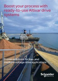 Engineered VSD for MMM (pdf 1.5 Mb) - Schneider Electric
