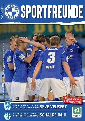 SSVG VELBERT SCHALKE 04 II - Sportfreunde Lotte
