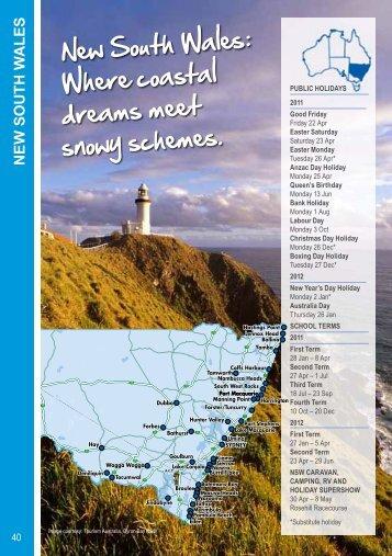 New South Wales: Where coastal dreams meet ... - BIG4 Holiday Parks