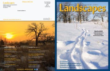Winter 2012-13 - McHenry County Conservation District