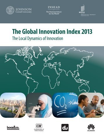 The Global Innovation Index 2013 - WIPO