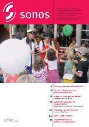 Oktober 09 - sonos - Schweizerischer Verband für das ...