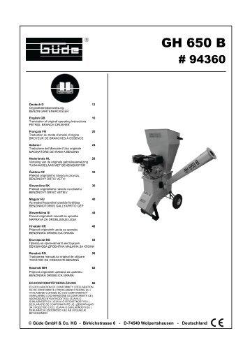 GH 650 B - Svh24