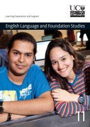 English Language and Foundation Studies - University of Canterbury