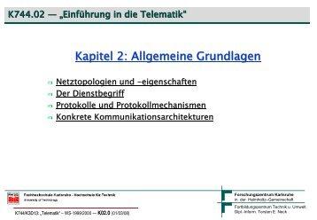 Grundlagen - Torsten E. Neck