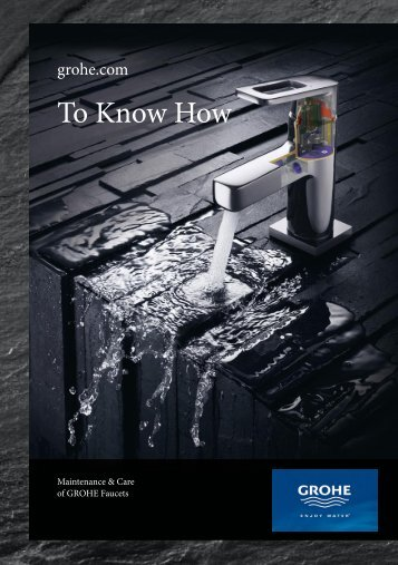 To Know How - GROHE