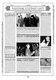 OSLAVY S OHŇOSTROJEM - Mariánskolázeňské listy