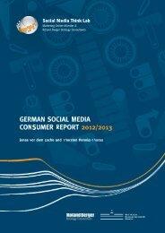German Social Media Consumer Report 2012/2013 - Roland Berger