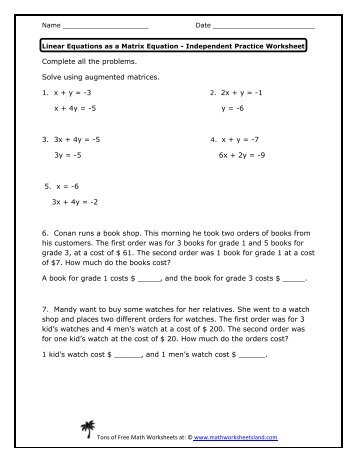 Printables Math Worksheet Land math worksheets land review intrepidpath answers to land