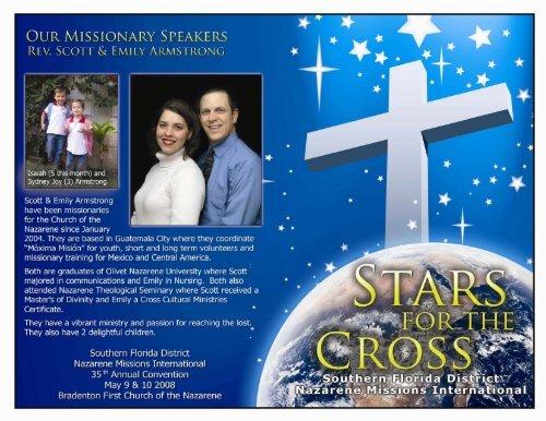 Rev  Scott & Emily Armstrong - Nazarene Missions