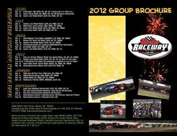 the group outing brochure - Berlin Raceway