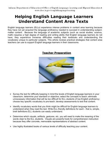 esl 223n sei foundations Gohacademy foundations of reading (mtel 90), reading specialist (mtel   the following esl & sei challenge #1 ~ the top 100 ~ is designed to help you .