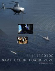 Navy Cyber Power 2020 - Defense Innovation Marketplace