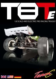 1:8 SCALE 4WD ELECTRIC PRO RACING TRUGGY - Absima