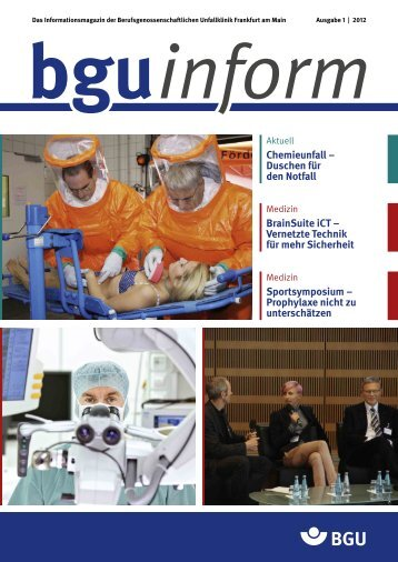 bguinform - Berufsgenossenschaftliche Unfallklinik Frankfurt am Main