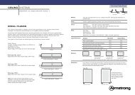 12047 Planks data sheet - Armstrong