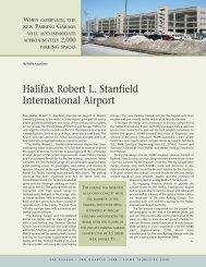 Halifax International Airport, by Rolfe Kaartinen - Canadian Parking ...