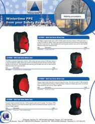 Wintertime PPE from your Safety Resource - Gosafe.com