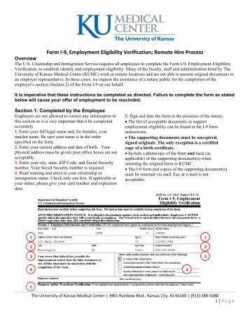 Form I 9 Employment Eligibility Verification Dodea