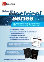 Electrical Wiring Practice 7th edition, Volumes 1 and 2 - McGraw-Hill ...