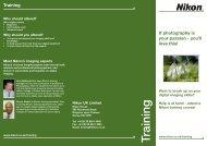 Training Brochure Consumer (Page 1) - Nikon