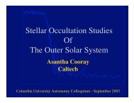 Stellar Occultation Studies Of The Outer Solar System