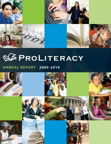 ANNUAL REPORT 2009-2010 - ProLiteracy