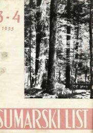 ÅUMARSKI LIST 3-4/1955