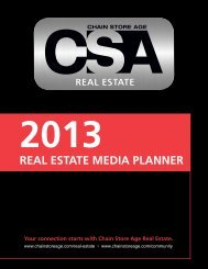 2013 Real Estate Media Planner - Chain Store Age