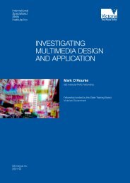 investigating multimedia design and application - International ...