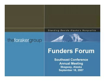 Funders Forum - Southeast Conference