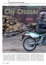 Fahrbericht Kawasaki KLX 250 - Kultourbikes.de