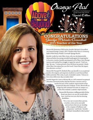 Congratulations - Orange County Public Schools