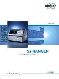 S2 RANGER - Bruker
