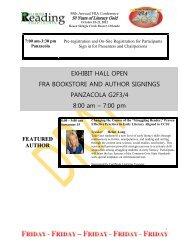 featured speaker - Florida Reading Association