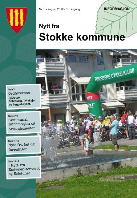 Nr. 5 August 2012 - Stokke kommune