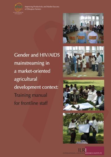 ILRI Gender and HIV/AIDS mainstreaming in a market-oriented ...
