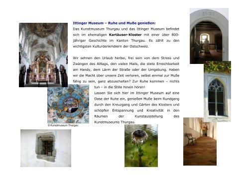 Ittinger Museum - OSTAK