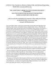 press release - City of Oak Forest