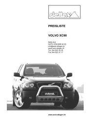PREISLISTE VOLVO XC90 - Auto-Stieger