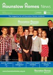 September / October 2010 - Hounslow Homes
