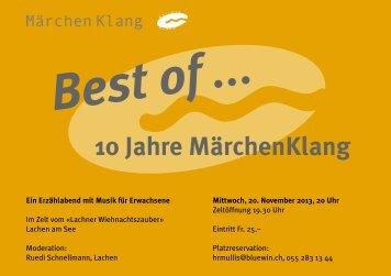 Flyer (PDF) - Märchenklang