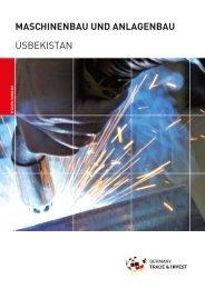 maschinenbau und anlagenbau usbekistan - AHK Zentralasien