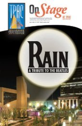 Rain - Tennessee Performing Arts Center