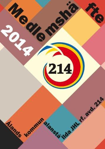 Medlemshäfte 2014