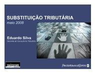 SUBSTITUIÇÃO TRIBUTÁRIA - Swisscam