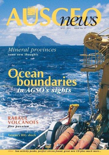 AusGEO news (APRIL '57) - Geoscience Australia