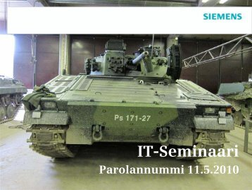 IT-Seminaari - Siemens