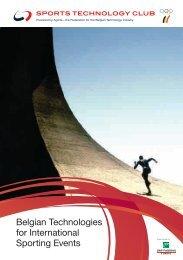 Belgian Technologies for International Sporting ... - Sportstechnology