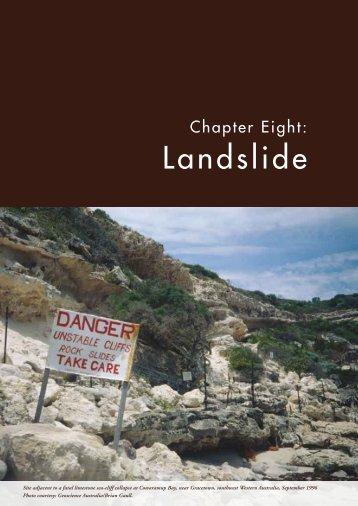 Landslide - Geoscience Australia